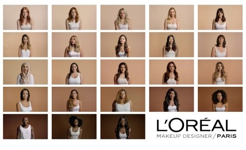 L'Oreal uses first ever male model in a cosmetics campaign