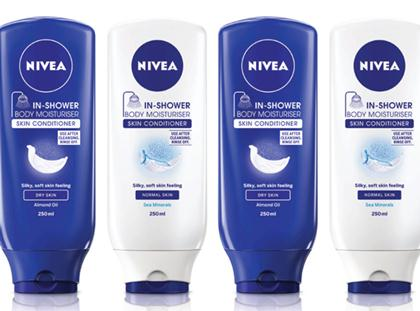 Beiersdorf claims industry first with Nivea body milk for shower